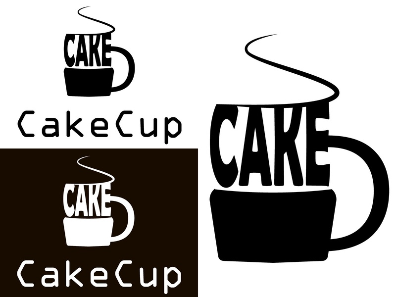 CakeCup|Cupcake Logo | Daily Logo Challenge: Day 18 photoshop art vector typography logo design logo illustrator art branding illustrator design illustrator illustration