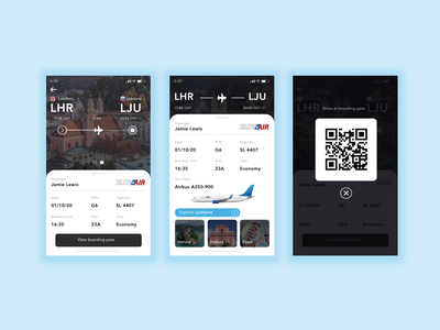 #DailyUI 024 - Boarding Pass dailydesign dailyuichallange flight booking boardingpassui dailyui 024 sketch adobe photoshop adobe illustrator adobe ux ui design dailyuichallenge dailyui daily 100 challenge