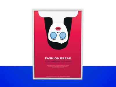 Poster Fashion Break Event