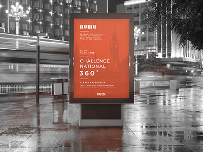 Poster - Numa ft. Digital Campus digital campus minimalistic poster london paris numa