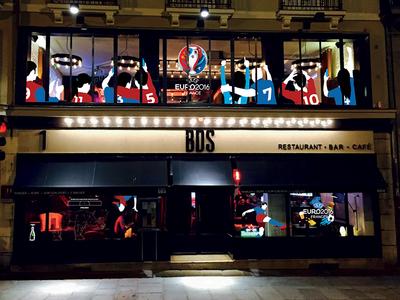 Covering Bar - Restaurant - Euro 2016
