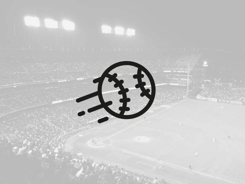 Collectif Home Run ball black baseball logotype logo
