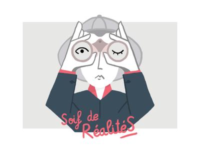 TedX - Poster draw rennes tedx illustration