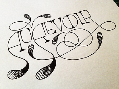 au revoir hand lettered typography by david j short dribbble