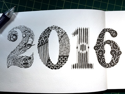 2016 ::: Hand-Lettered Typography