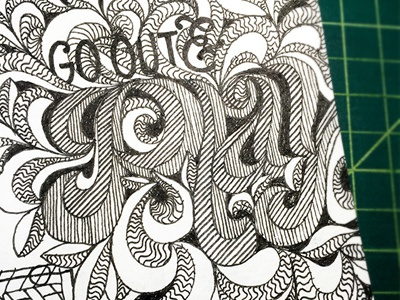 Go Out & Play ::: Hand-lettered Typography lettering typography type paper graffiti illustrated type handwritten handletter hand-lettered hand lettering hand drawn typography custom typography