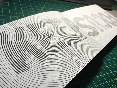 Keep Focus ::: Hand-Lettered Typography