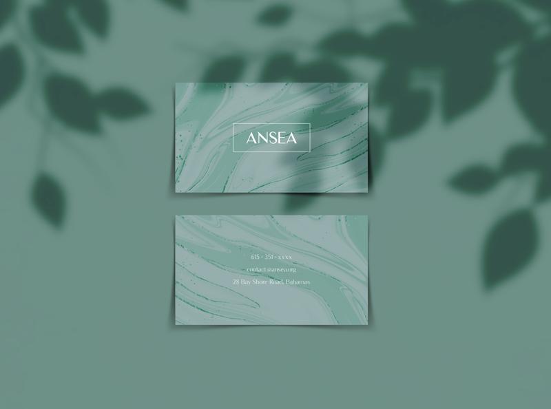 Ansea - Agency Branding Concept clean typography logo packaging design illustrator photoshop minimal design branding logo design concept typography logo agnecy branding concept