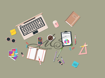 Graphic Designer Workspaces graphic designer workspaces armenia logo adobe illustrator dribbble 2d adobeillustator vector design illustration