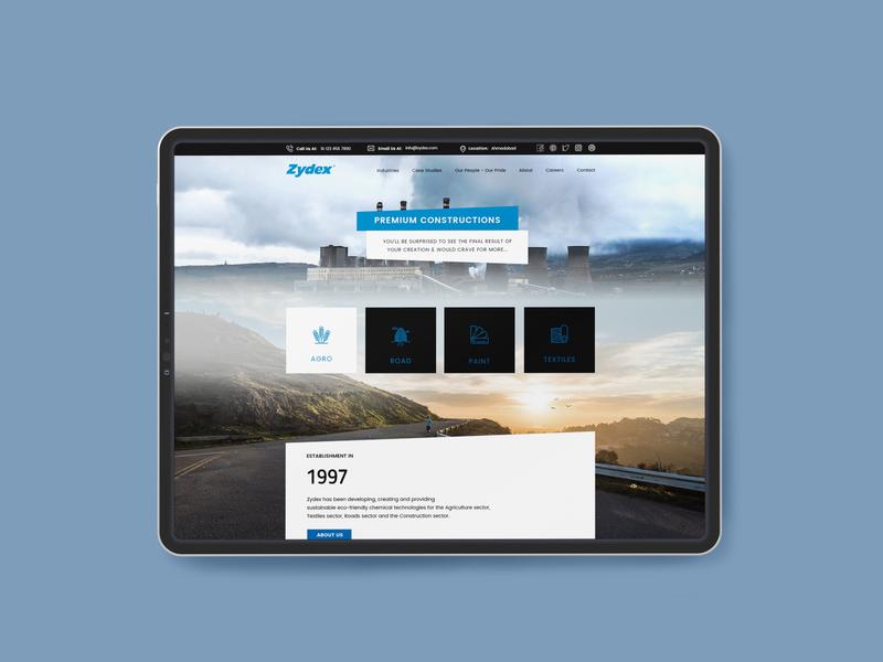 Web design branding clean website design webdesign website design concept ui