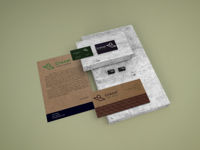 Grenel Solar Panels Identity recycled paper recycled environment energy print identity print identity branding identity design identity engineering brand design branding design brand identity brand logo fictional design branding