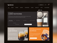 Nespresso Support Page Redesign