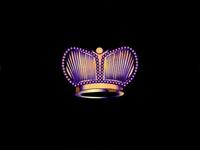 Crown brand design branding concept concept design 2d branding vector logo design illustration crown yellow black gold purple colorful color