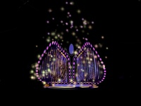 Sparkles branding colorful color concept twinkle illustration art rebound vector black purple illustration design logo