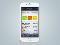 Financial Mobile App Concept