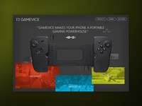 GAMEVICE - Desktop Concept