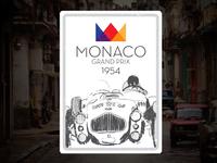 Shirt Design - Monaco Grand Prix