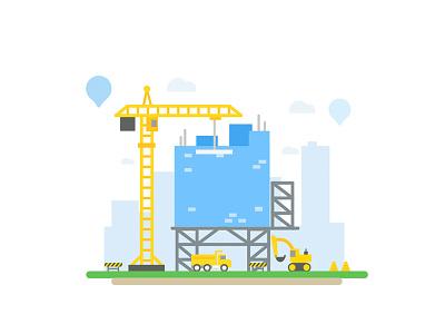 Construction site ui