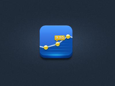 Stock stock app icon