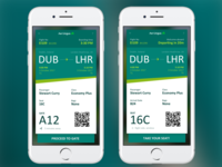 Daily UI 024 - Boarding Pass