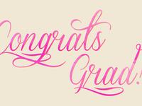 Congrats Grad!