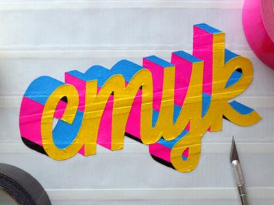 Ducktype CMYK ducktype ducktape typography type design