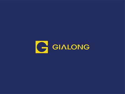 Gialong Logo design font symbol branding fubo type logotype logo identity mark