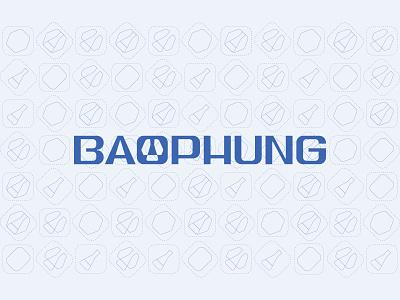 Baophung chemical display typeface display type font design typography illustration fubocreative icon showcase logotype identity branding symbol mark chemicals
