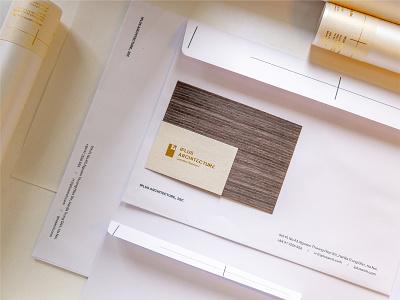 Iplus Architecture - Brand identity fubocreative mark illustration logotype branding brand identity architecture