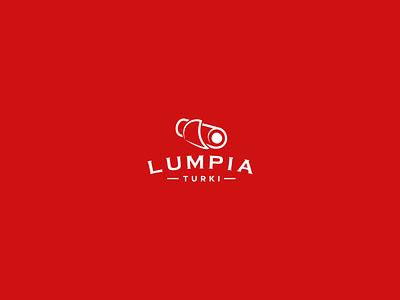 Spring Rolls Branding - Lumpia Turki red snack branding spring rolls food branding logo design brand identity branding design branding