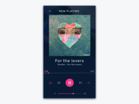 Daily ui #9 - Music Player
