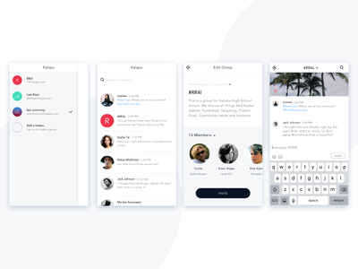Daily Ui #13 - Direct Messaging app ui direct messaging daily ui