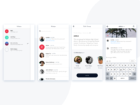 Daily Ui #13 - Direct Messaging app