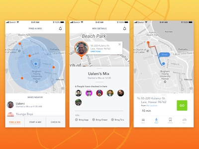 Daily Ui #20 - Location Tracker mobile ux ui location tracker daily ui