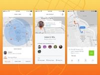 Daily Ui #20 - Location Tracker