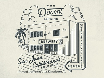 Docent Brewing - Matchbook