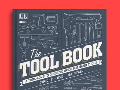 The Tool Book retro type tool book book cover design book design book cover