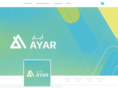 Ayar Social Media Designs 02 branding logo social media cover book design photoshop psd mock up graphic roll-up