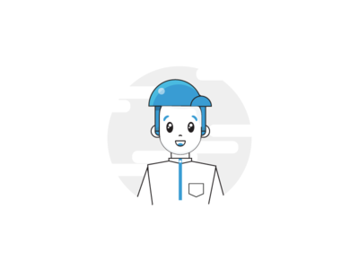 character arab 02 .aep graphic gif effects ux ui flat animation motion web after design