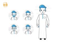 character arab free