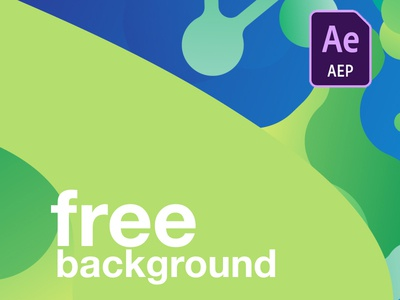 background free Animation Template .aep graphic gif effects ux ui flat animation cloud motion after design