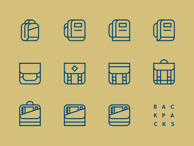 Backpack Icon Exploration