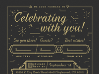Millard wedding rsvp full