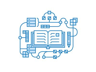 Notebook Data Illustration