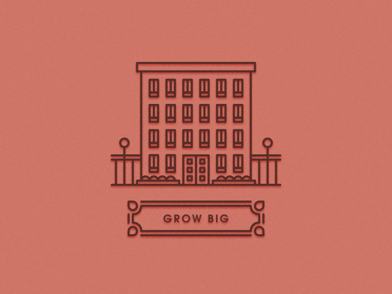 Dribbble grow big