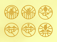 Napa Valley Badges Revised