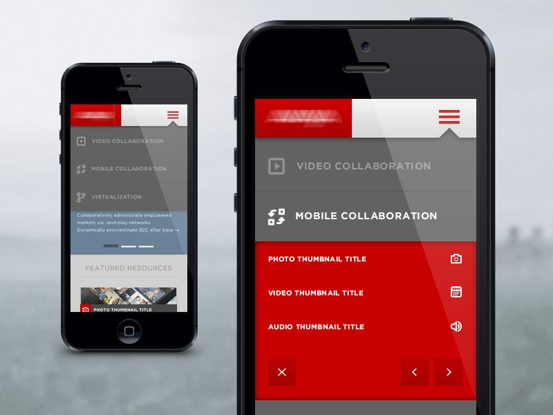 Mobile Dropdown Slider mobile skeu flat dropdown collaboration virtualization responsive web ui ux slider thumbs batch iphone