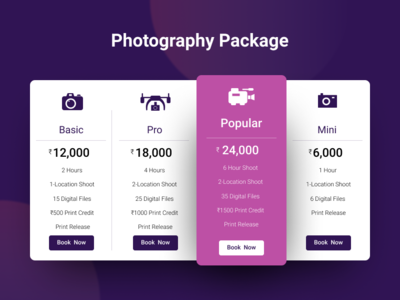Pricing Page - UI #002