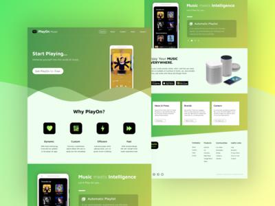 Landing Page - UI #006