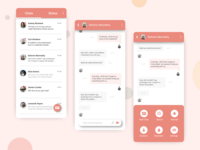 Messenger App - UI #007